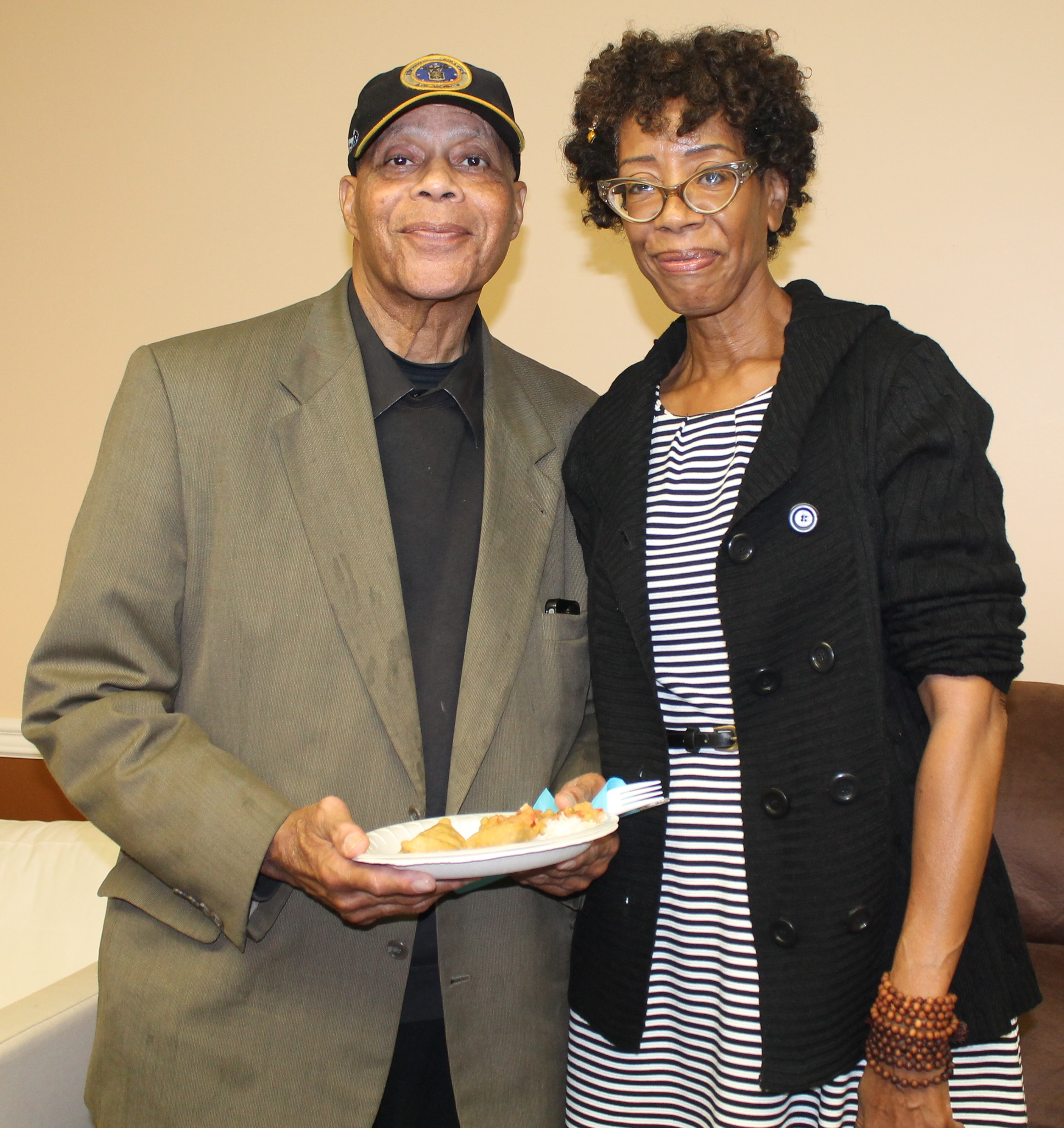 john cartright and beverly mickins at sgub benefit 2014