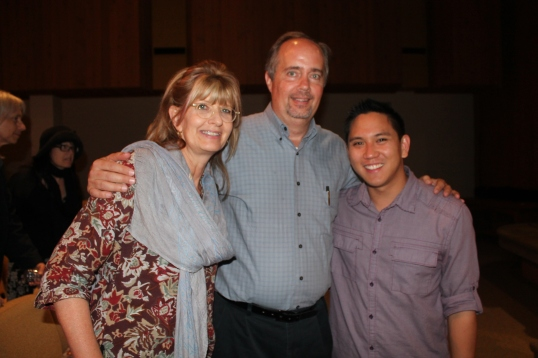 laurie frank schifani and abe lagrimas at sgub benefit 2014