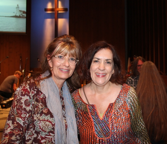 sharon and laurie at sgub benefit 2014